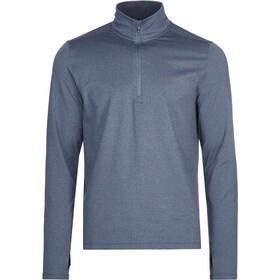 saucony Sunday 1/4 Zip Long Sleeve Men, azul